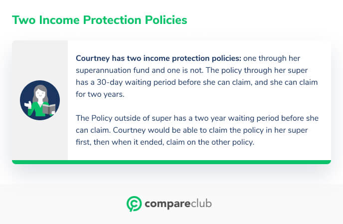 Two income protection policies
